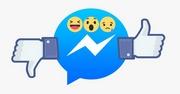 Facebook thử nghiệm nút Dislike trên Messenger