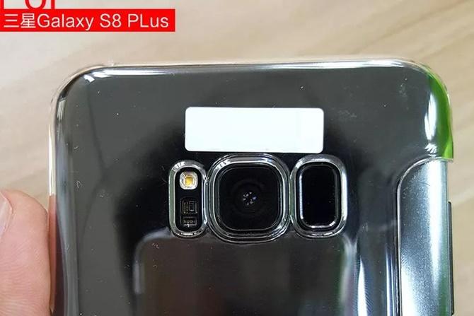 Lộ diện hình ảnh mới của Galaxy S8, có nút Home ảo ở phía trước