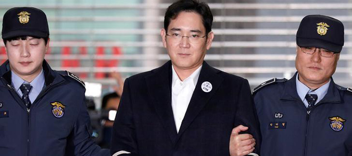 """""""Phiên tòa thế kỷ"""" xét xử lãnh đạo Samsung đã bắt đầu"""