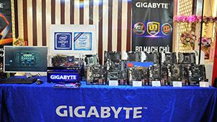 Gigabyte giới thiệu dòng sản phẩm Aorus Gaming tại Việt Nam