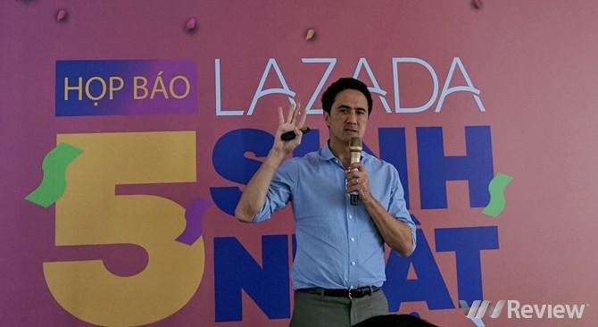 Lazada tung loạt khuyến mãi nhân dịp sinh nhật thứ 5