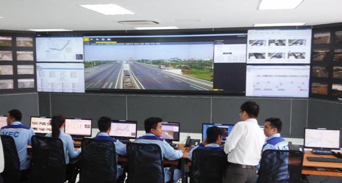 Đưa vào hoạt động hệ thống giao thông thông minh cho đường cao tốc