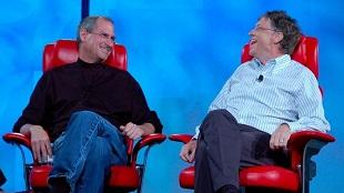 """Loạt ảnh về mối quan hệ """"bạn-thù"""" kỳ lạ của Steve Jobs và Bill Gates"""