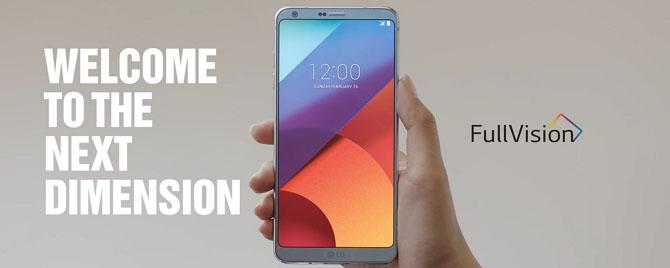 Vì sao LG G6 lại có tỉ lệ màn hình lạ 18:9?