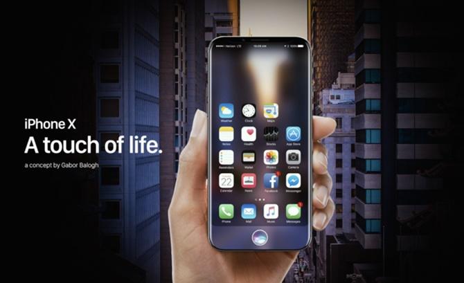 Đây là chiếc iPhone 8 mà người dùng muốn Apple tạo ra
