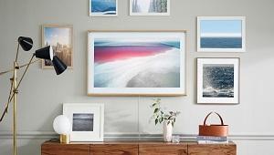 Samsung giới thiệu TV viền gỗ tựa như tranh treo tường