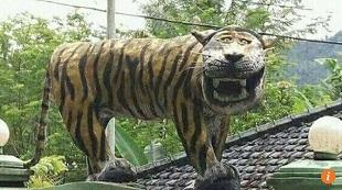 Quân đội Indonesia phá tượng hổ cười cho cư dân mạng khỏi ý kiến
