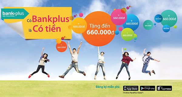 Viettel tặng tiền vào tài khoản cho khách dùng BankPlus