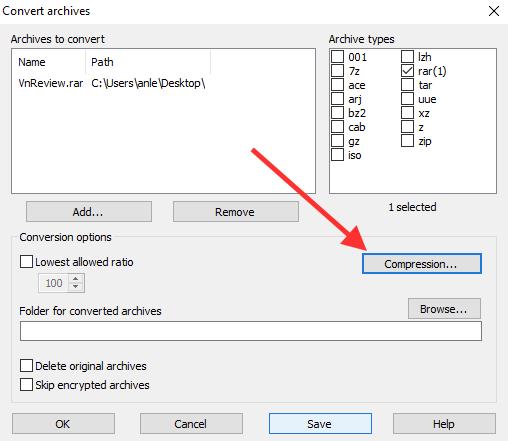 Thêm mật khẩu cho các file đã nén trong WinRAR | DIỄN ĐÀN