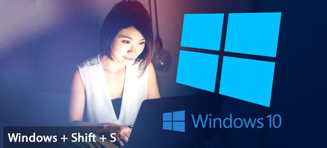 Đã có phím tắt chụp màn hình theo vùng chọn cho Windows 10 - ảnh 1