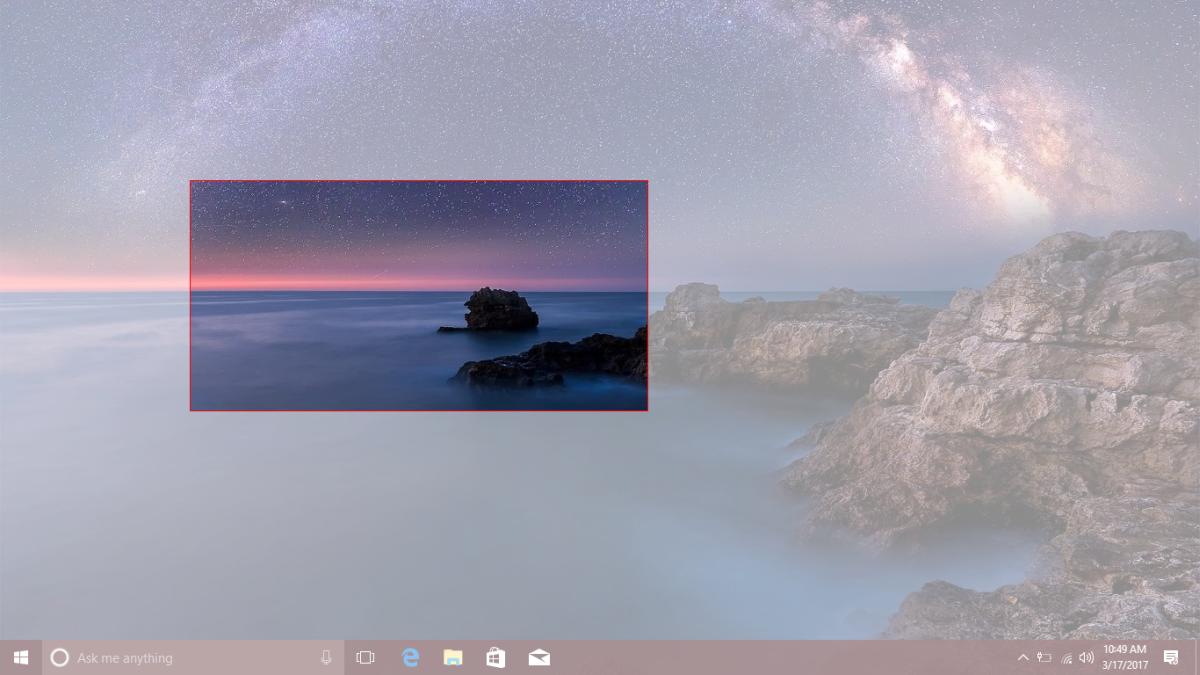 Đã có phím tắt chụp màn hình theo vùng chọn cho Windows 10 - ảnh 3