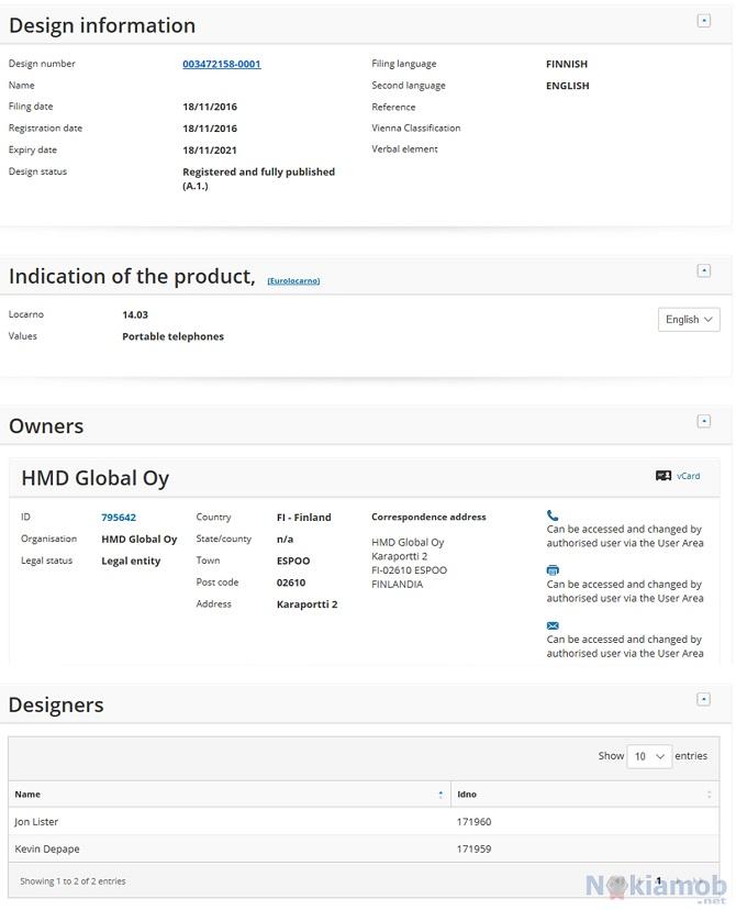HMD Global xin cấp bằng sáng chế cho thiết kế... Nokia 6 - ảnh 5