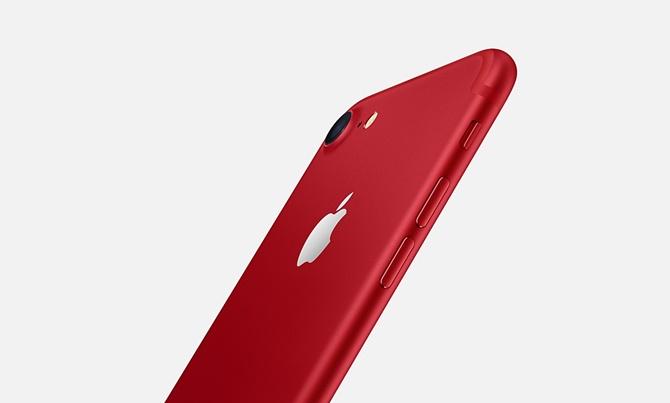 Apple bất ngờ giới thiệu phiên bản iPhone 7 và 7 Plus màu đỏ