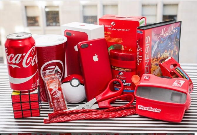 Mở hộp iPhone 7 Plus, bản màu đỏ vừa giới thiệu