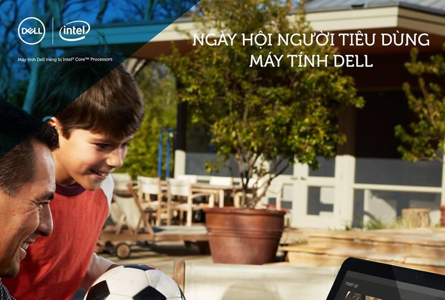 Ngày hội người tiêu dùng máy tính Dell mở rộng tới 7 tỉnh thành