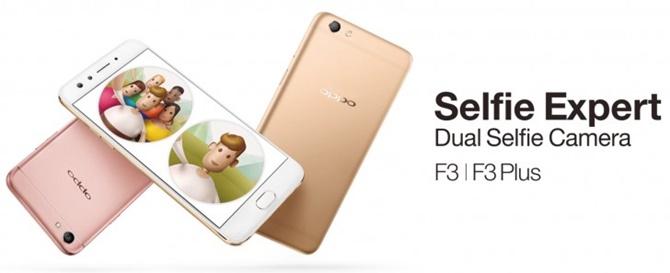 Oppo F3 Plus chính thức trình làng: màn hình 6 inch, camera selfie kép, chip 8 nhân