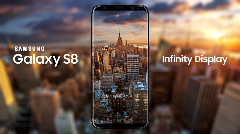 Màn hình vô cực trên Galaxy S8, S8 Plus