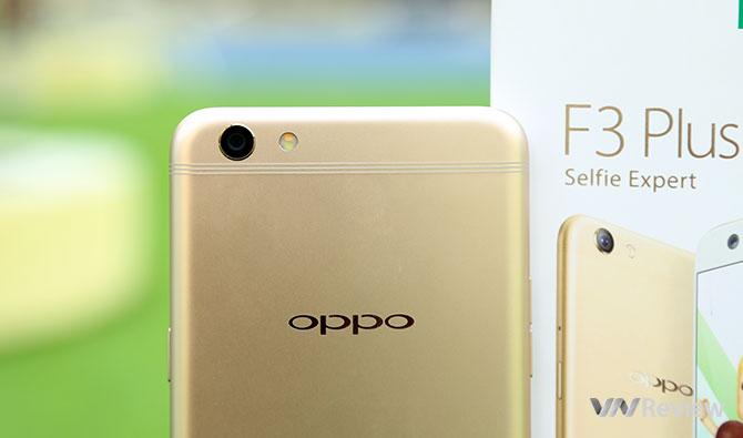 Đánh giá chi tiết Oppo F3 Plus - ảnh 3