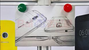 Ảnh chụp bản vẽ flagship Nokia dùng camera kép, ống kính Zeiss