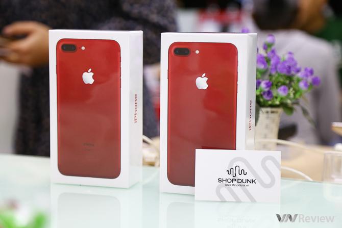 Trên Tay Iphone 7 Plus Màu đỏ đầu Tiên Tại Hà Nội Giá Trên
