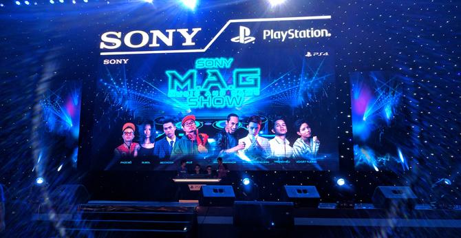 Bữa tiệc âm nhạc và PlayStation 4 tại Sony M.A.G Show