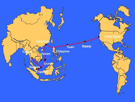 10 ngày nữa tuyến cáp quang biển AAG mới được sửa xong