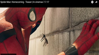 Spider-Man: Homecoming tiếp tục tung teaser hâm nóng