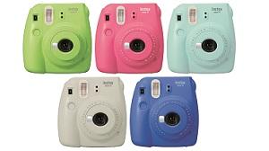 Fujifilm ra Instax Mini 9: máy ảnh chụp lấy ngay, nhiều lựa chọn màu sắc