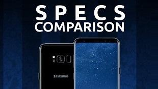 So sánh cấu hình Galaxy S8 với iPhone 7, Google Pixel và LG G6