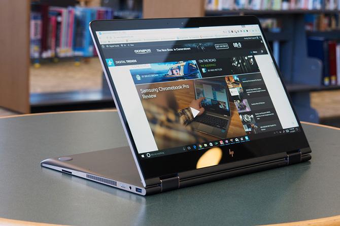 Đánh giá HP Spectre x360 15-inch (2017) - laptop 2 trong 1 có thiết kế đẹp, pin lâu - ảnh 5