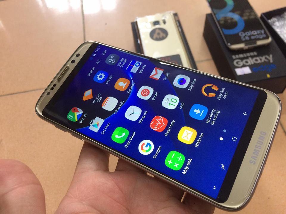 """Chưa mở bán, """"Samsung Galaxy S8"""" nhái giá khoảng 3 triệu đồng đã tung hoành thị trường"""