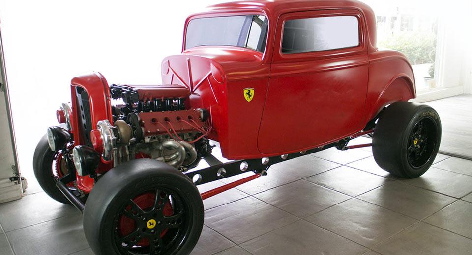 Chiếc xe Ford dùng động cơ Ferrari được rao với giá... trên trời