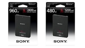 Sony tung ra ổ cứng SSD tốc độ cao, phục vụ cho nhu cầu 4K