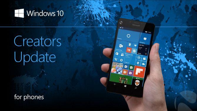 Chỉ 13 mẫu điện thoại Windows 10 Mobile được nhận Creators Updates