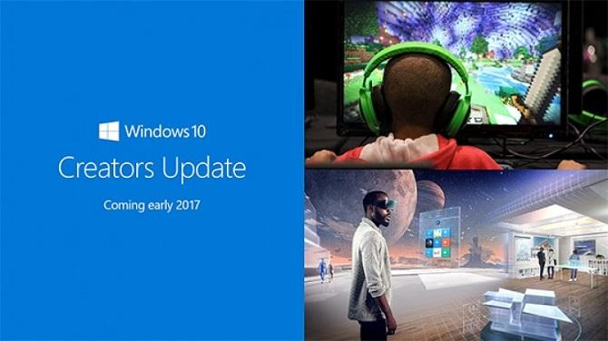 Đã có thể tải về Windows 10 Creators Update