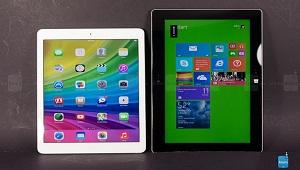Người dùng Mỹ hài lòng với Microsoft Surface hơn iPad