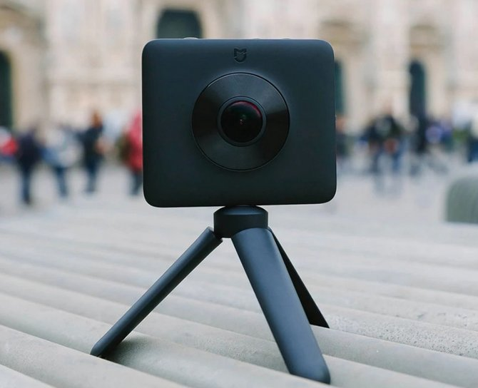 Xiaomi ra mắt camera 360 độ, chống nước IP67, giá 250 USD