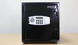 Trên tay két sắt khóa điện tử Honeywell: giá 6,45 triệu đồng, bảo hành 7 năm