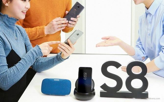 Galaxy S8+ 6GB RAM bắt đầu cho đặt trước tại Hàn Quốc