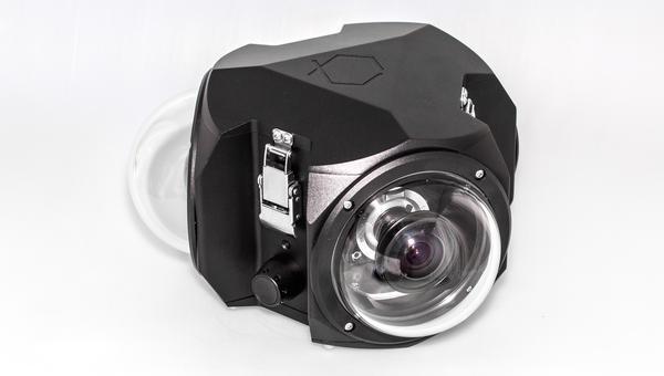 Boxfish 360: Quay video 5K 360 độ, cảm biến Micro Four Thirds