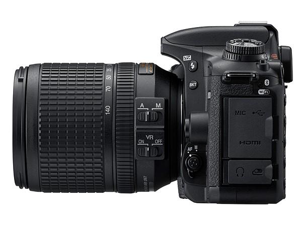 Nikon ra mắt DSLR tầm trung D7500, bản rút gọn của D500
