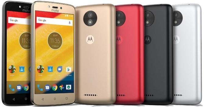 Moto Moto C và C Plus sẽ là smartphone giá rẻ nhất của Motorola?