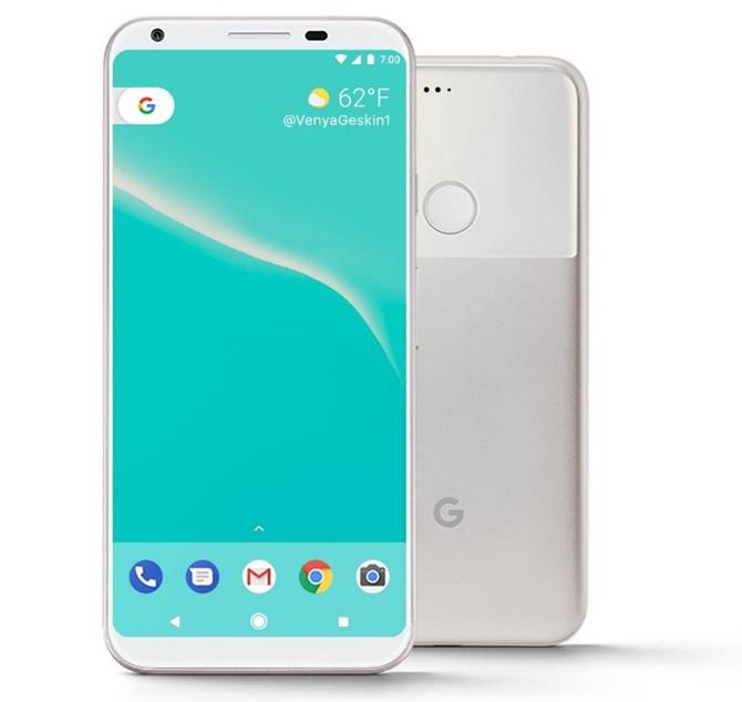 Google Pixel 2 sẽ có màn hình vô cực như Galaxy S8?