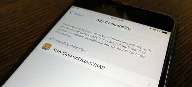 iOS 10.3 cho phép kiểm tra ứng dụng đang cài đặt nào đã lỗi thời