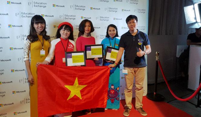 Microsoft vinh danh chuyên gia giáo dục sáng tạo Việt Nam