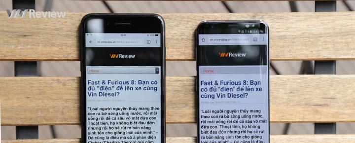 Sự thật bất ngờ về màn hình 5.8 inch trên Galaxy S8