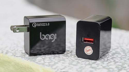 """Đánh giá củ sạc Bagi M30 """"made in Vietnam"""": Quick Charge 3.0, giá 300.000 đồng"""