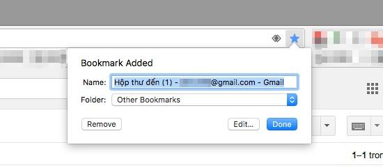 Truy cập vào nhiều tài khoản Gmail bằng phím tắt
