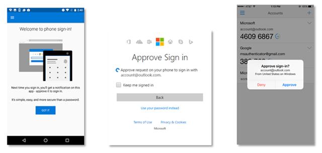 Microsoft cho phép đăng nhập bằng điện thoại, không cần mật khẩu - ảnh 1