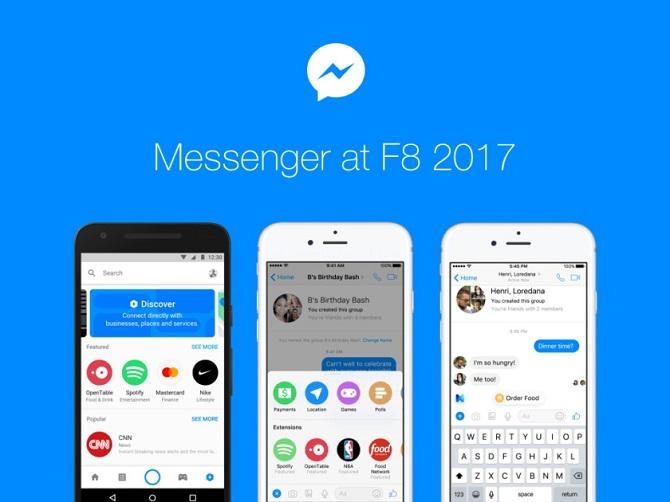Những tính năng sắp xuất hiện trên Facebook Messenger